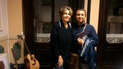 """Presentazione di """"Mia Martini. almeno tu nell'universo"""" alla Fiera delle Parole a Padova. Con Carla Vistarini - 10 ottobre 2015"""