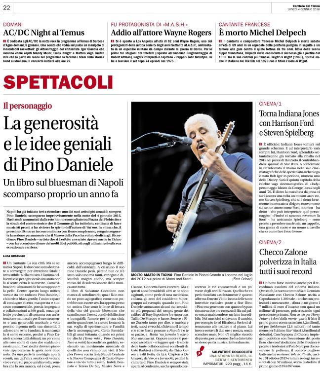 Pino Daniele_Corriere del Ticino_2