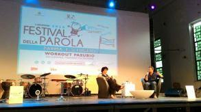 """Presentazione """"Mia Martini. Almeno tu nell'universo"""" con Leda Bertè a Parma Festival della Parola, Workout Pasubio, 5 luglio 2015"""