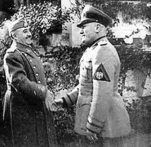 Franco e Mussolini