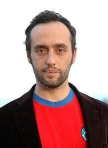 Lo scrittore Enrico Brizzi