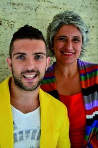 Claudio Volpe e Paola Concia